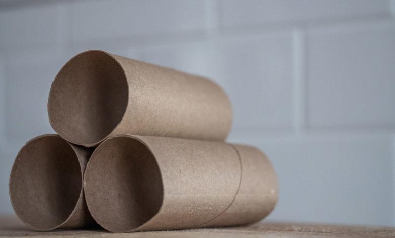 mengenal rumus luas permukaan tabung melalui tiga tumpukan roll tisu