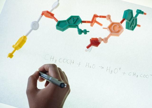 Várias fórmulas químicas para compostos que você deve conhecer