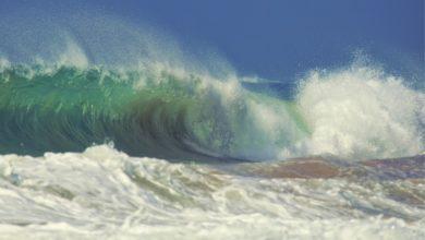 O que causa um tsunami?