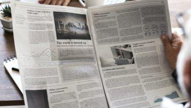 Como selecionar várias informações no texto editorial