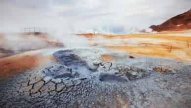 O processo de vulcanismo e seu efeito na vida