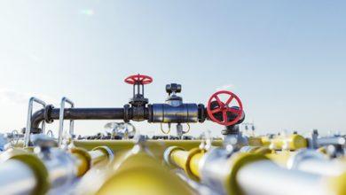 Volume de gás em condições não padrão